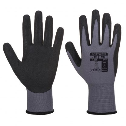 Portwest AP62 Dermiflex Waterproof Grip Glove, Black, main
