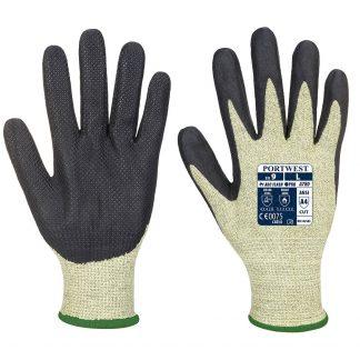 Portwest A780 Arc Flash Gloves, Green/Black, main