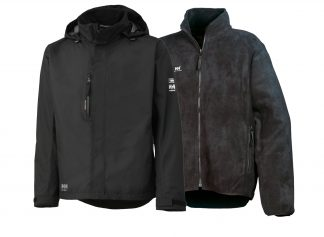 Men's HH Warm & Dry Safety Kit - Insulated Rain Coat