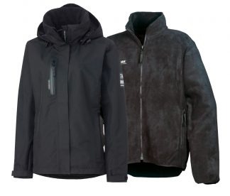 Women's HH Warm & Dry Safety Kit - Insulated Rain Coat