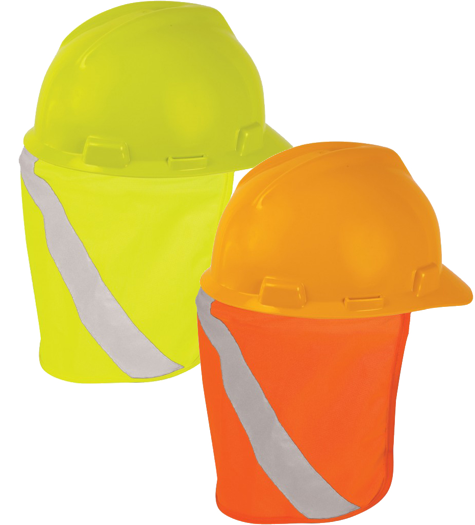 7b72af197937a3 High Vis Hard Hat Sun Shield - ML Kishigo 2808/2809 — iWantWorkwear