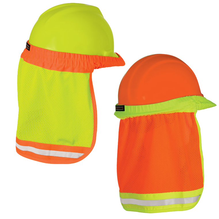 96201d52c0fe95 High Vis Hard Hat Sun Shield - ML Kishigo 2810/2813 — iWantWorkwear
