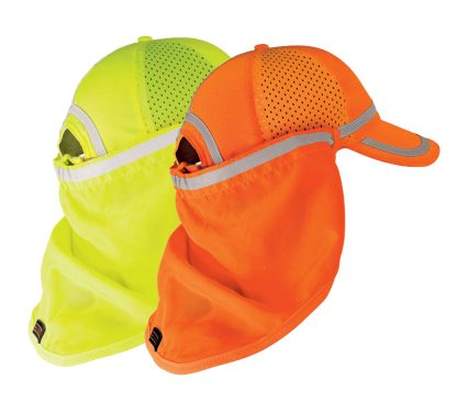High Visibility Baseball Cap Sun Shield - ML Kishigo 2811/2812