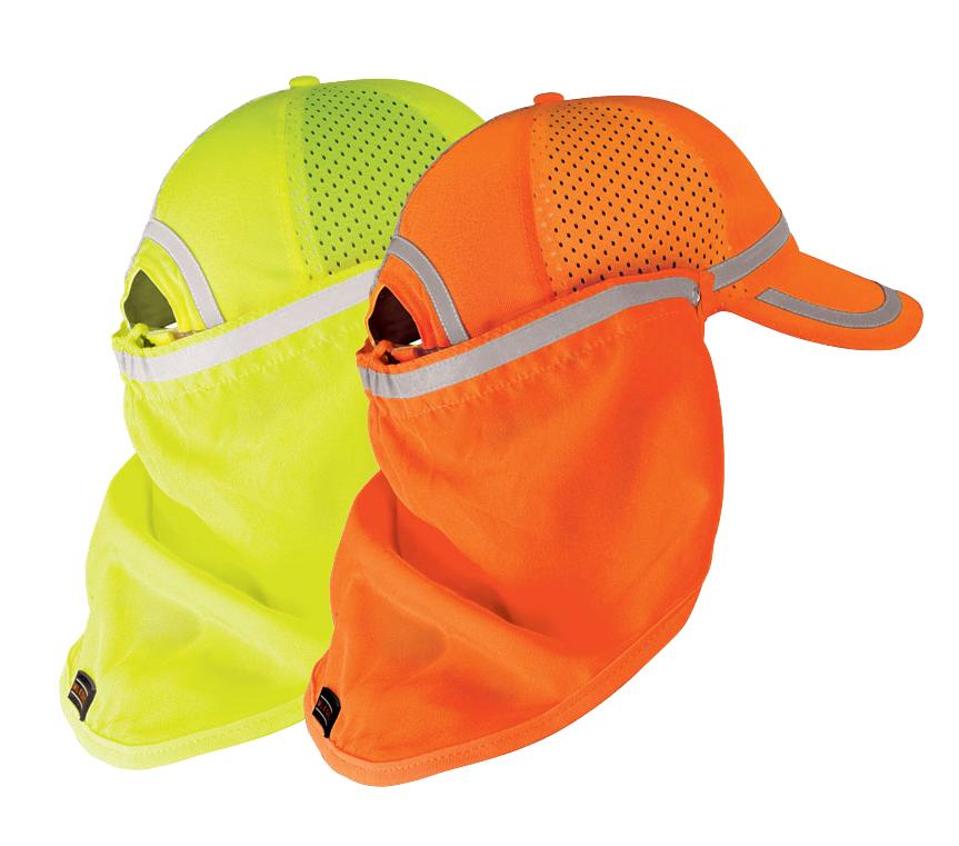 eaf592d3143bbb High Visibility Baseball Cap Sun Shield - ML Kishigo — iWantWorkwear