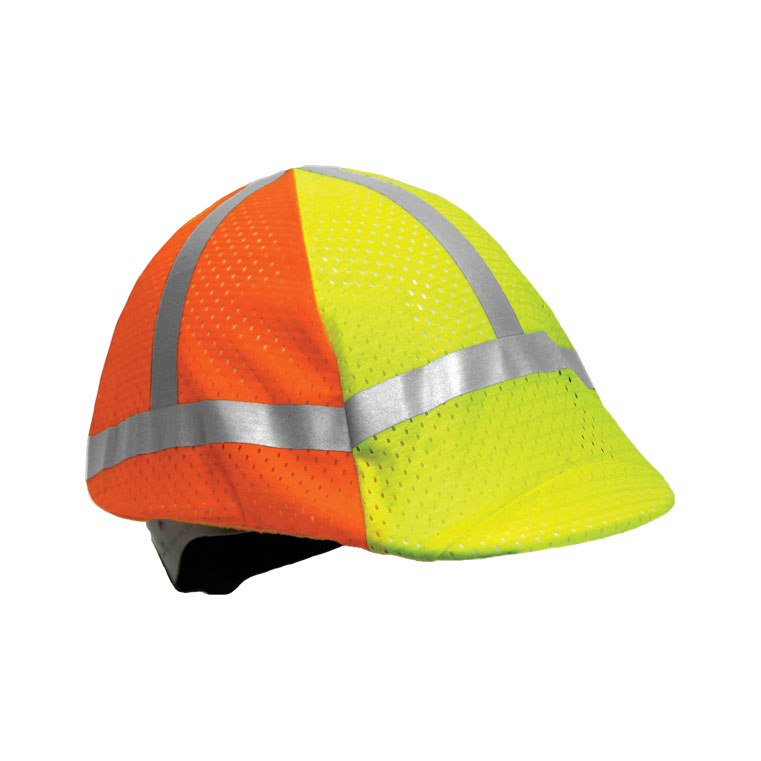 000052cc81e215 Two-tone High Vis Hard Hat Cover - ML Kishigo 2871 — iWantWorkwear