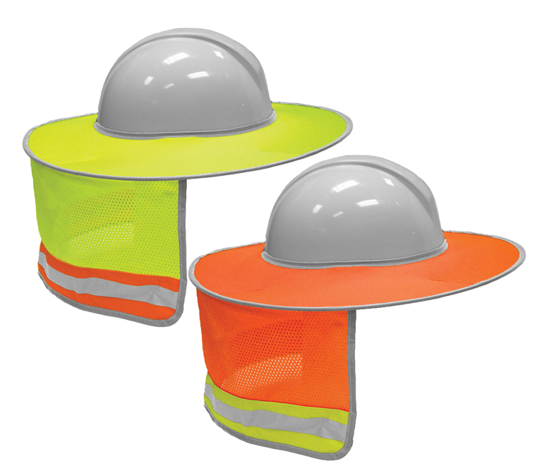 c521a2ea3c5a1b High Visibility Full Brim Sun Shield - ML Kishigo 2873 — iWantWorkwear