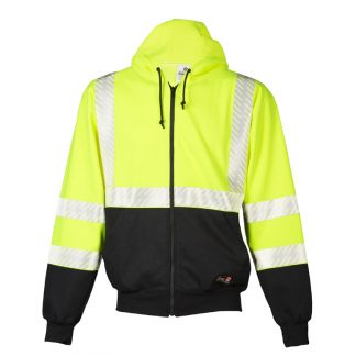 High Visibility Fire Resistant Hoodie - ML Kishigo F407, front