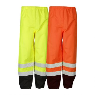 High Visibility Storm Cover Rain Pants - ML Kishigo RWP102/103