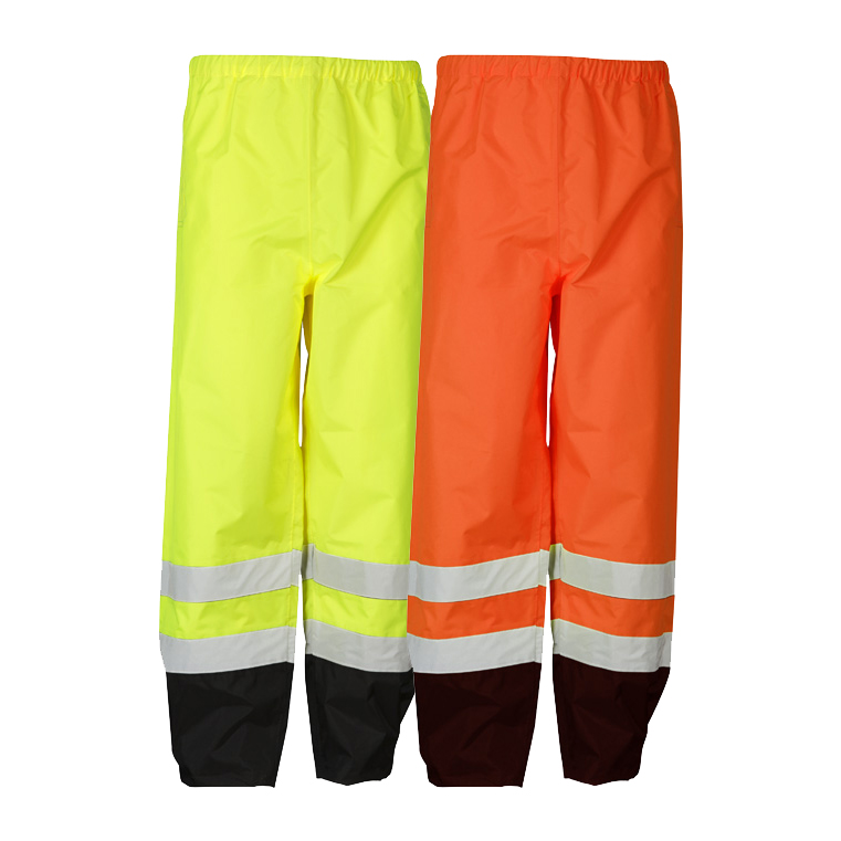 4c1816e731b5af High Visibility Storm Cover Rain Pants - ML Kishigo RWP102/103