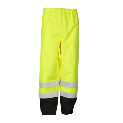 High Visibility Storm Cover Rain Pants - ML Kishigo RWP102 - Front