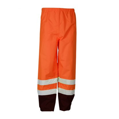 High Visibility Storm Cover Rain Pants - ML Kishigo RWP103 - Front