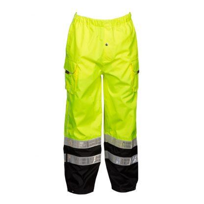 High Visibility Rain Pants - ML Kishigo RWP106 - Front