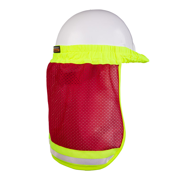 b86587857c980a High Visibility Hat Sun Shield - ML Kishigo B11/12/13 — iWantWorkwear