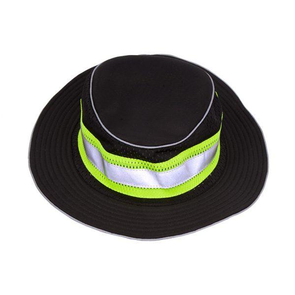 Enhanced Visibility Full Brim Safari Hat, black