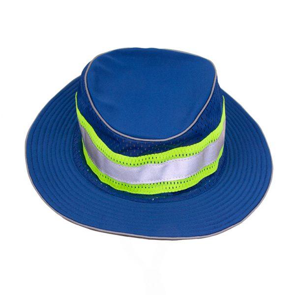 Enhanced Visibility Full Brim Safari Hat, blue