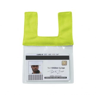 High Visibility Retractable ID Pocket - ML Kishigo RTCIDL