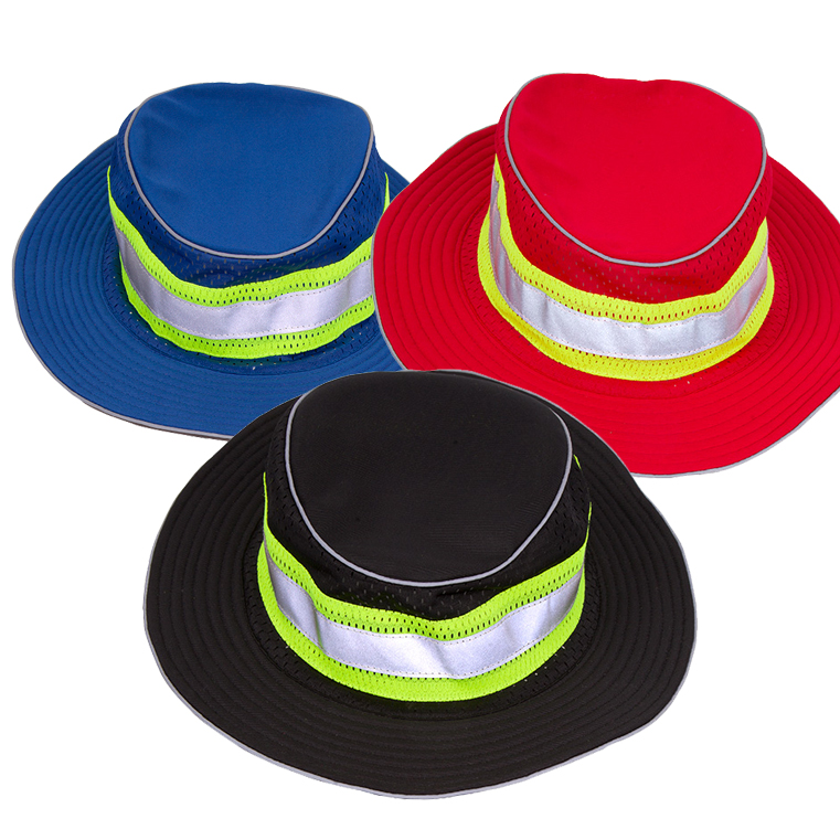 e6b2e226a1f53e ... ML Kishigo B22/23/24. Enhanced Visibility Full Brim Safari Hat, red,  blue or black