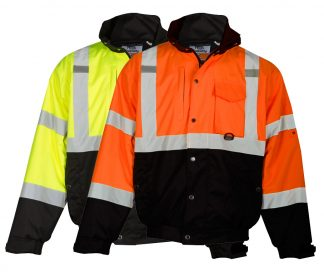 Ripstop High Visibility Bomber Jacket - ML Kishigo JS130/131, available in yellow and orange