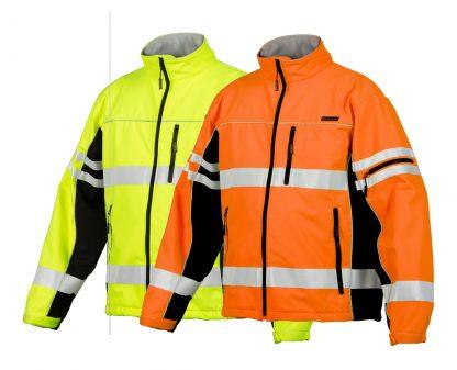 High Visibility Soft Shell Jacket - ML Kishigo JS137/138, main, available in both yellow and orange