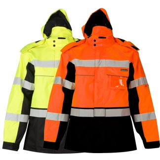 High Visibility Contrast Winter Jacket - ML Kishigo JS140/141, main