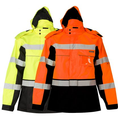 High Visibility Contrast Winter Jacket - ML Kishigo JS140/141, main