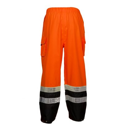 High Visibility Rain Pants - ML Kishigo RWP107 - Back