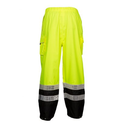 High Visibility Rain Pants - ML Kishigo RWP106 - Back