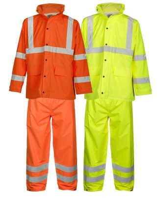 High Visibility Rain Suit - ML Kishigo RW110/111