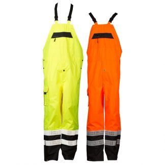 High Visibility Prismatic Rain Bib - ML Kishigo RWB106/107