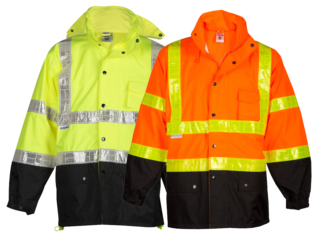 3022d6fb7c451b High Visibility Storm Stopper Pro Rain Jacket - ML Kishigo RWJ100/101