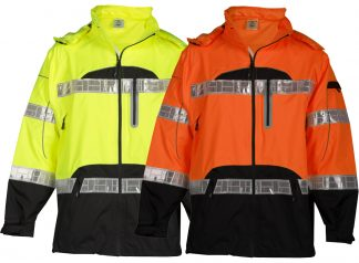 High Visibility Prismatic Rain Jacket - ML Kishigo RWJ106/107