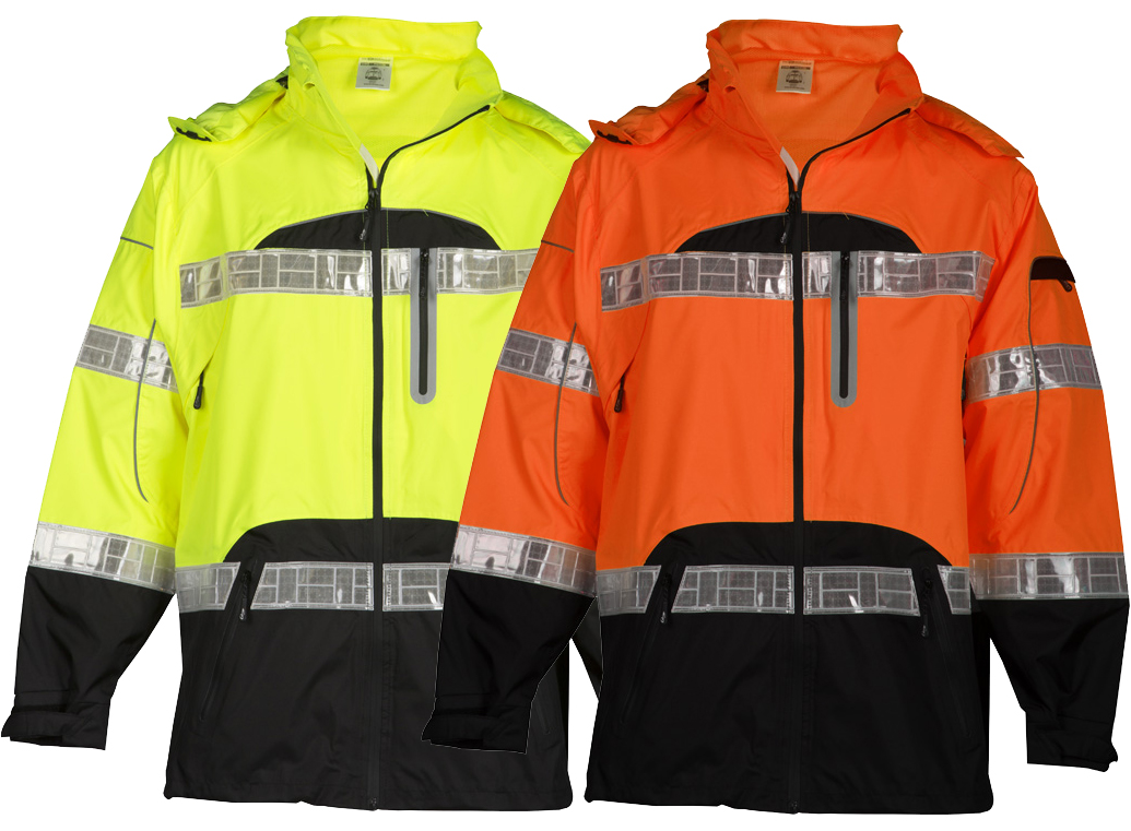 bf0e7e44bf7f83 High Visibility Prismatic Rain Jacket - ML Kishigo RWJ106/107 ...