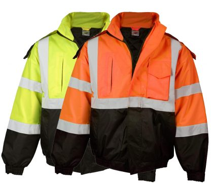 High Visibility Economy Bomber Jacket - ML Kishigo JS121/122, main