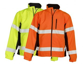 High Visibility Windbreaker Jacket - ML Kishigo WB100/101, available in both yellow and orange
