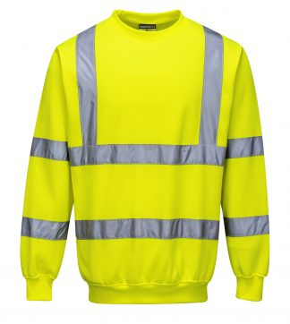 High Visibility Sweatshirt - Portwest B303, Yellow