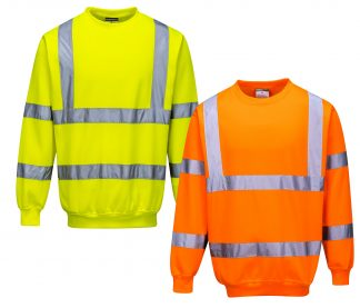 High Visibility Sweatshirt - Portwest B303, Mix
