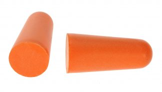 Uncorded PU Foam Ear Plug, 200 Pack - Portwest EP02, Orange