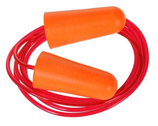 Corded PU Foam Ear Plug - Portwest EP08