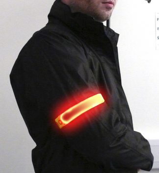 Illuminating Flashing Armband - Portwest HV05, Main