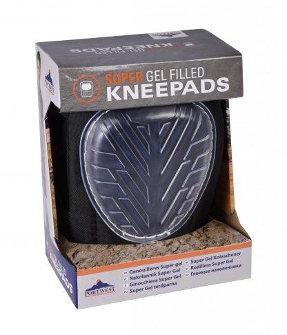 Super Gel Knee Pad - Portwest KP30, in packaging