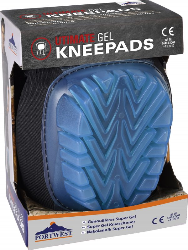 Ultimate Gel Knee Pad - Portwest KP60, Packaging