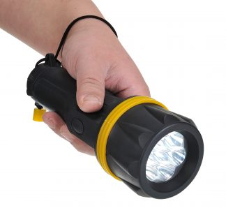 7 LED Rubber Flashlight - Portwest PA60, Main