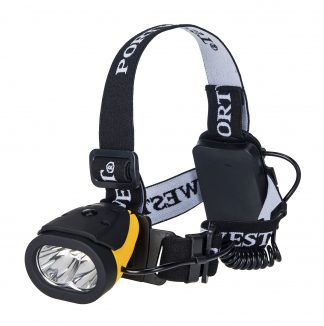 Lightweight Dual Power Headlight - Portwest PA63, Main