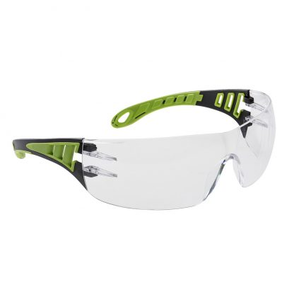 Tech Look Safety Glasses - Portwest PS12, clear