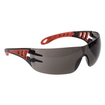 Tech Look Safety Glasses - Portwest PS12, smoke