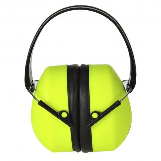 Super High Visibility Earmuffs - Portwest PS41, Front