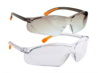 Fossa Safety Glasses - Portwest PW15, Clear and Smoke