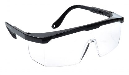 Classic Safety Glasses - Portwest PW34, Clear Lens