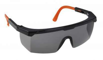 Classic Safety Glasses - Portwest PW34, Smoke