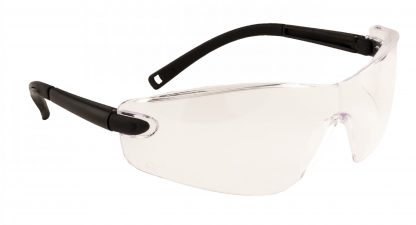 Frameless Safety Glasses - Portwest PW34, Clear